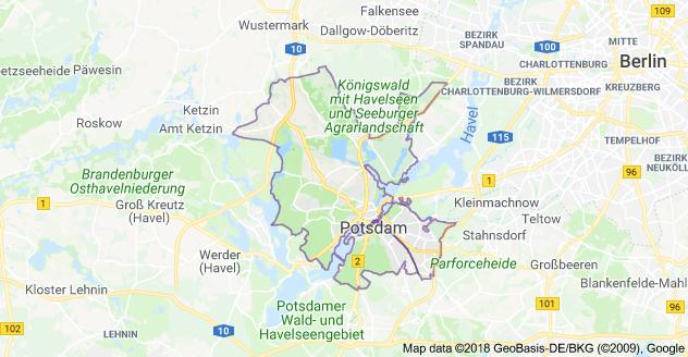 Platz 342 für Potsdam: Die Hauptstadt des Landes Brandenburg ist die teuerste Stadt im Bundesland